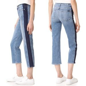 • 7 For All Mankind • Kiki Shadow Seam Ankle Jeans